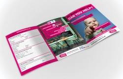 6 page A5 leaflet