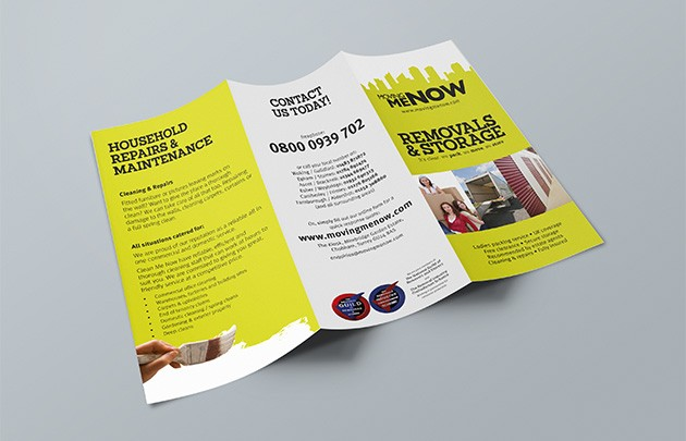 Dl Folded Leaflet Printing  Free Delivery  JustPrintingCoUk