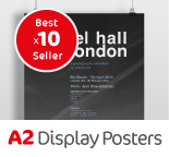 One Click A2 Display Posters