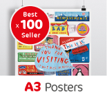 100 A3 Posters
