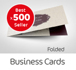 500 Folded Business Cards
