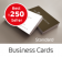 One Click business card ordering