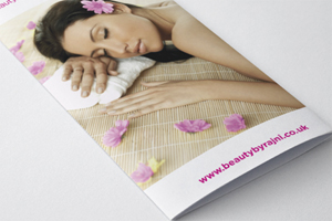 Beauty leaflet printing