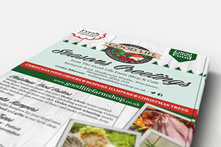Flyer printing from just-printing