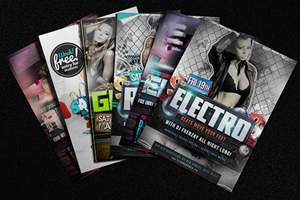 Nightclub Flyers from Just-Printing