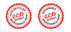 Just Flyers eco logos